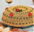 Поделки своими руками: вязаный торт, связанный крючком. Описание и схемы бесплатно