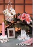 Поделки своими руками: вазочка, связанная крючком. Описание и схемы вязания бесплатно