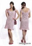 Летнее платье, связанное крючком. Описание и схемы вязания бесплатно (1)