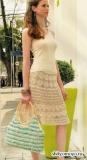 Летняя юбка, связанная крючком. Описание и схемы вязания бесплатно