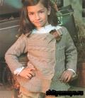 Детский жакет, связанный спицами. Описание и схемы вязания бесплатно