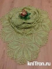 Моя первая шаль Харуни