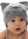 Детская шапочка Котенок