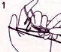 Азбука ручного вязания для начинающих: итальянский набор петель