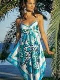 Летнее платье из шарфа