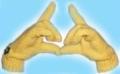 Женские перчатки: подробное описание вязания спицами + схема