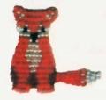 Поделки своими руками: животные из бисера - котенок. Схемы. Для начинающих.