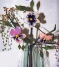 Анютины глазки - цветы, сплетенные из бисера. Описание + схемы