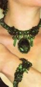 Украшения своими руками: ожерелье, браслет и серьги из бисера. Описание + схема