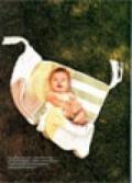 Детское одеяльце, связанное спицами