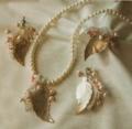 Украшения своими руками: ожерелье, серьги и кольцо. Описание + схема