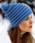 Уроки ручного вязания для начинающих: урок 31 - шапки