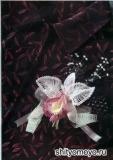 Бело-розовая орхидея, связанная крючком. Описание и схемы вязания бесплатно