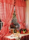 Как сшить шторы своими руками: кухонные занавески на петлях с воланами. Пошаговое описание + выкройка