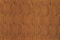 Аранское вязание: узор спицами 5 - волны. Описание + схемы