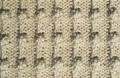 Аранское вязание: узор спицами 12 - чеканка. Описание + схемы