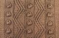 Аранское вязание: узор спицами 21. Описание + схемы