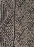 Аранское вязание: узор спицами 23. Описание + схемы