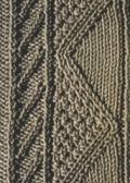 Аранское вязание: узор спицами 26. Описание + схемы