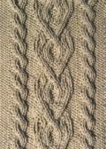 Аранское вязание: узор спицами 28. Описание + схемы