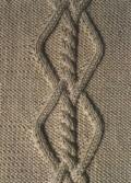Аранское вязание: узор спицами 29. Описание + схемы