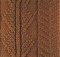 Аранское вязание: узор спицами 30. Описание + схемы