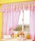 Как сшить шторы своими руками: розовые занавески с воланами и помпонами для детской спальни. Мастер-класс