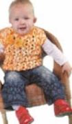 Детский жилет, связанный крючком