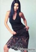 Летняя черная юбка, связанная крючком. Описание + схемы