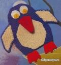 Детская игрушка пингвин, связанная крючком. Описание + схемы