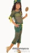 Вязание крючком для детей: модели схемы бесплатно - зеленые летние брюки для девочки 3 лет