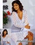 Бесплатные модели и схемы вязания: белая юбка крючком