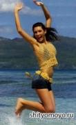 Бесплатное вязание крючком схемы и модели: желтый пояс