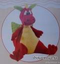 Вязание крючком схемы модели бесплатно: детская игрушка - дракон