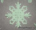 Новогодние поделки своими руками: снежинка 4 - распечатай и вырежь