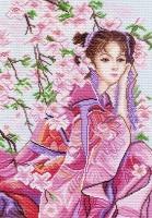 Канва с рисунком 37/49см, Розовые мечты Матренин посад, арт 1153