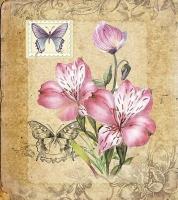 Наборы для вышивания 22х25 см, Лиловая соната, арт 8358