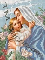 Схема д/выш бисером КБ-021 БМ Мария и дитя 32х24 см