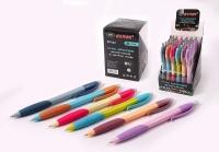 Ручка автоматическая шариковая на масляной основе цветной корпус NEW