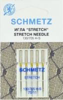 Иглы машинные Schmetz S №75, 0701293 стрейч