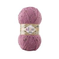 Пряжа Ализе Альпака Твид (269 розовый)