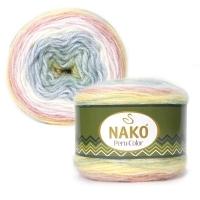 Пряжа Nako Peru Color (32182)