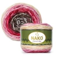 Пряжа Nako Peru Color (32189)