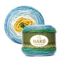Пряжа Nako Peru Color (32191)