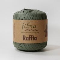 Пряжа Raffia Fibranatura (116-05 зеленый)