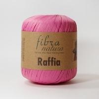 Пряжа Raffia Fibranatura (116-07 розовый)