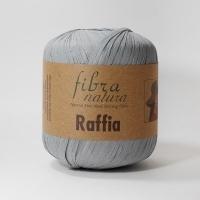 Пряжа Raffia Fibranatura (116-11 серый)