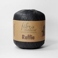 Пряжа Raffia Fibranatura (116-12 черный)