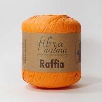 Пряжа Raffia Fibranatura (116-19 оранжевый)