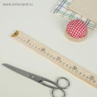 Метр деревянный, 1 м (см/дюймы)